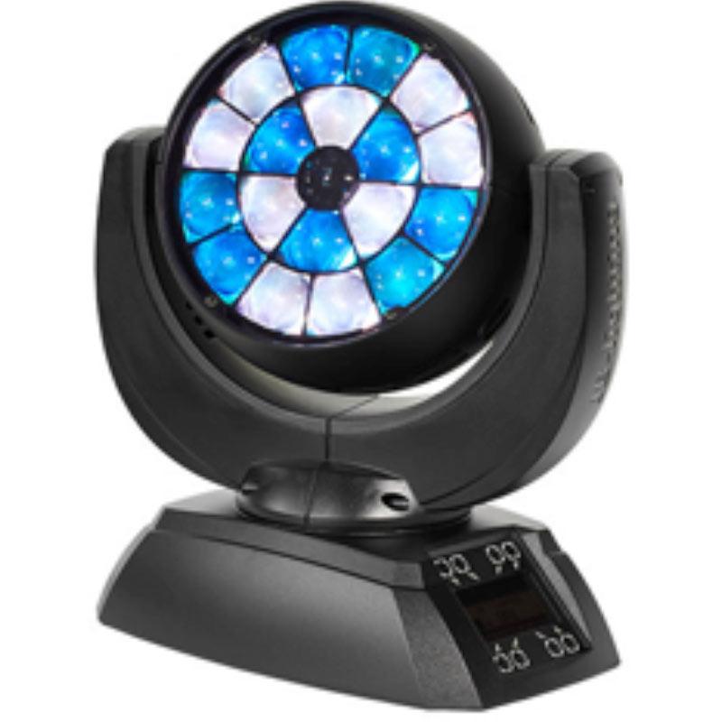Neu und bahnbrechend anders: das LED-Washlight Sparx 7 von JB-Lighting.